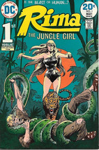 Rima the Jungle Girl Comic Book #1, DC Comics 1974 VERY FINE/NEAR MINT - $19.27