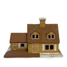 Vintage Byron Molds 1979 Christmas Village House Handprinted Ceramic House - $22.72
