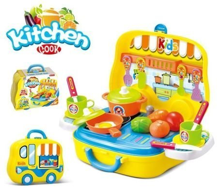 All In One Portable Kitchen Cooking Play Set