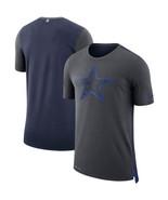 NEW  Dallas Cowboys Nike Charcoal/Navy Sideline Travel Mesh Performance ... - $39.99
