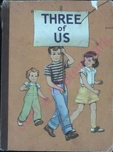 Vintage Childs School Book Three of Us First Level Pre-Primer 1954 - $15.63