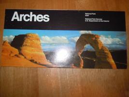 Vintage Arches National Park Utah Brochure 1986 - $4.99
