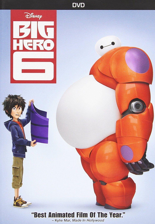 Baymax And Gogo big hero 6 dvd film walt disney family kids and 32 similar items