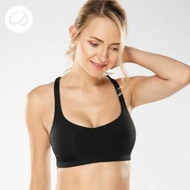 Women Yoga Sport Bra Light Support Cross Back Wirefree Removable Cup Bre... - $30.12
