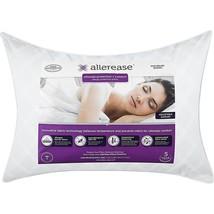 Allerease Organic Cotton Cover Allergy Protection Pillow Bedding Standar... - $297,74 MXN