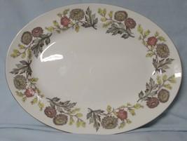 "Wedgwood Lichfield W4156 Oval Platter 15"" - $28.60"