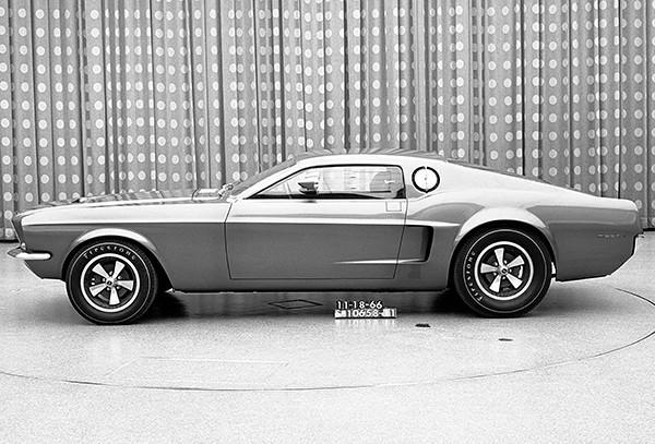 Primary image for 1966 Ford Mustang Mach 1 Prototype - Promotional Photo Poster