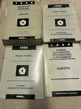 1999 Dodge DAKOTA TRUCK Service Repair Workshop Shop Manual Set OEM Mopa... - $58.36
