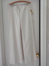 Michael Kors (NWT) Cream Ladies Slacks Size 8 (#2981) - $79.99