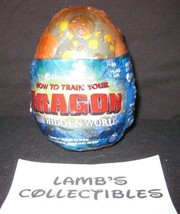 """How to train your Dragon 3 The Hidden World Orange egg 3"""" Blue spotted Gronckle - $37.98"""