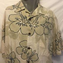 Hilo Hattie Motorcycles Hibiscus Flowers Hawaiian Shirt Size 2X Aloha Bi... - $32.46