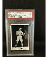 1935 J.A. Pattreiouex Sporting Events & Stars Benny Lynch #49 Boxing PSA 3 VG - $14.30