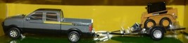 John Deere TBE45368 Mega Hauling Playset Pickup Trailer Skid Steer Tractor Cart image 2