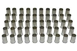 A-Team Performance 4 Gauge (Ga.) Non-Insulated Ferrules Fittings Tin Plated Copp
