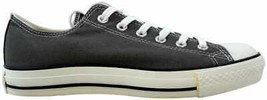 Converse Chuck Taylor All Star Seasonal OX Charcoal 1J794 Men's Size 3 - $50.00