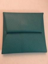 Auth HERMES Bastia Coin Purse Chevre Mysore Leather - - $217.80