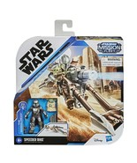 NEW 2020 Star Wars Mandalorian Mission Fleet Speeder Bike The Child Baby... - $37.14