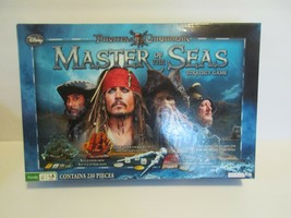 Pirates of the Caribbean Master Of The Seas Board Game strategy complete... - $12.86