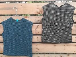 Vintage Pair Cali Koret Jr.? Women's SIze Medium Shirt Tops Wear Repair ... - $24.46