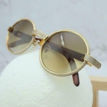 3cf1ba4e1716 Cartier Smooth Acrylic Bezel Rosewood DS Buffalo C Décor Sunglasses SHAB...  -  495.00