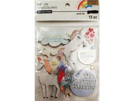 "Recollections Dimensional ""Enchanting"" Unicorns Sticker Set #502902"
