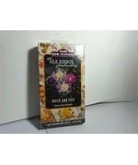 COLLECTIBLE VHS BUCILLA INTERMEDIATE LEVEL SILK EMBROIDERY GUIDE  1997  - $3.91