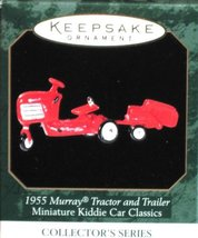 1955 Murray Tractor and Trailer - 1999 Hallmark Ornament - $4.95