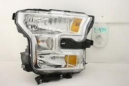 USED OEM HEAD LIGHT HEADLIGHT LAMP HEADLAMP HALOGEN 15-17 FORD F150 F-15... - $84.15