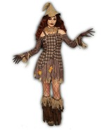 Forum Novelties Harvest Scarecrow Dress Adult Womens Halloween Costume 83937 - $39.99