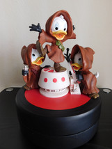 Extremely Rare! Walt Disney Donald Duck The Nephews Star Wars Statue LE of 1977 - $346.50
