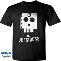 The Outsiders Men Black T-Shirt New - $17.99