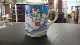 COCA COLA Coffee Mug 1998 Gibson Vintage VTG Coke Cup Bears Polar Bear D69 - $9.74