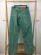 VTG Levi's  Men's Orange Tab 560 Loose Fit Straight Leg Teal Denim Pants... - $35.95