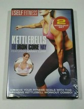 Best KETTLEBELLS THE IRON CORE WAY 2 WORKOUT SET New Sealed DVD Sarah Lurie - $7.38