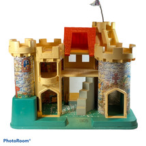 Vintage 1974 Fisher Price Little People Play Castle 993 Castle Only No Accessory - $39.19