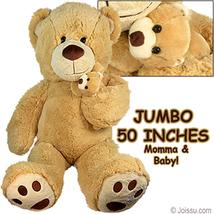 Jumbo Plush Cuddle Bears w/ Cub lot of 2 - $178.00