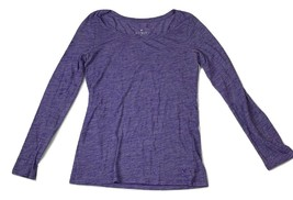 AE American Eagle Outfitters Womens Sz S Ultimate T-Shirt Purple Long sleeves - $12.10