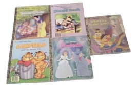 Little Golden Books 10 Books Lot 2C see pictures good shape  - $7.75