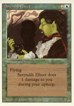 Magic: The Gathering 3rd Edition - Serendib Efreet - $9.49