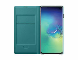 Genuine Samsung Galaxy S10 LED View(Wallet) Cover Case / EF-NG973 3_Colors image 10