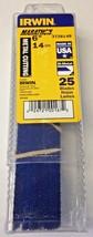 """Irwin Marathon 372614B 6"""" x 14TPI Metal Cutting Reciprocating Blades 25 Pack USA - $35.64"""