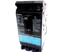Gebraucht Siemens Ed63b090 Schutzschalter 90a 600v - $160.00