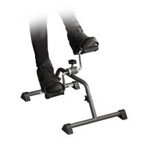 Portable Exercise Bike Pedal Cycle Office Workout Foot Fitness Under Des... - £23.75 GBP