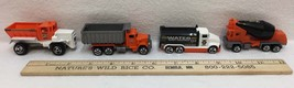 Hot Wheels Diecast Construction Toys Water Truck Cement Truck Dump Truck... - $14.84