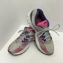 Asics Gel Nimbus 17 Women's Size US 9.5 Running Shoes Gray Pink Purple T... - $37.39