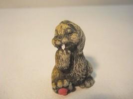 Bunny Rabbit Bunnies Miniature Figurine Collectible - $8.99