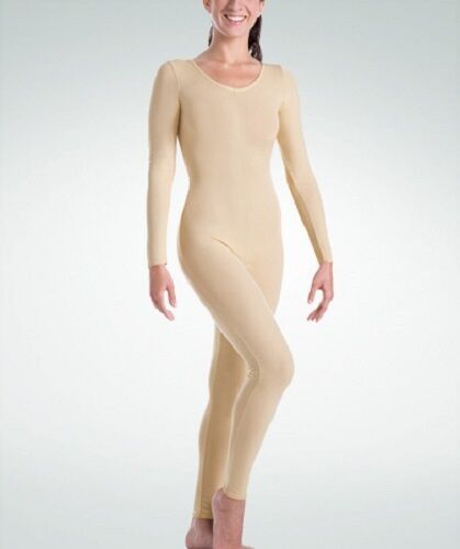 Primary image for Body Wrappers 117 Child Intermediate (6X-7) Nude Full Body Long Sleeve Unitard