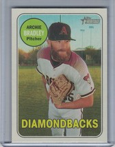 ARCHIE BRADLEY 2018 Topps Heritage Reverse Flip Stock (Only 5 Produced) ... - $22.46