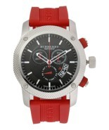 Burberry BU7706 Sport Red Swiss Made Mens Watch - $323.73 CAD