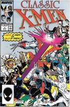 Classic X-Men Comic Book #8 Marvel Comics 1987 VERY FINE/NEAR MINT NEW U... - $3.50